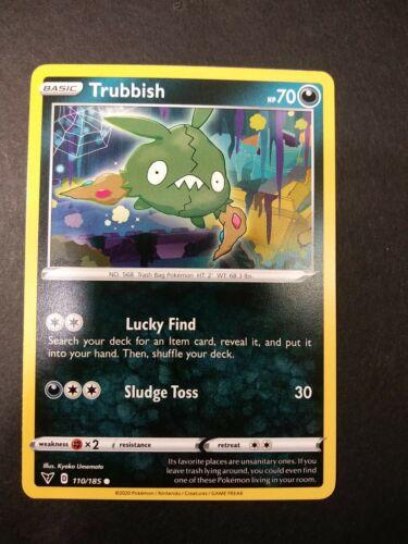 Pokemon Vivid Voltage Trubbish Common Card 110//185 NM
