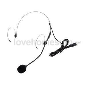 ohrb gel nackenb gel headset mikrofon 3 5mm klinke. Black Bedroom Furniture Sets. Home Design Ideas