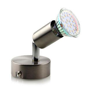 Gu10 led deckenlampe spots strahler wandlampe for Deckenlampe 2 strahler