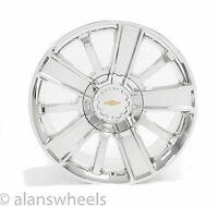 "4 Chevy Silverado Avalanche Chrome 20"" High Country Wheels Rims 5653"