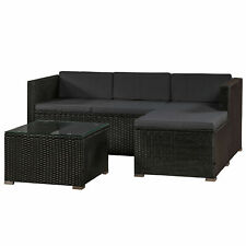 Lounge-Set Polyrattan inkl. Tisch