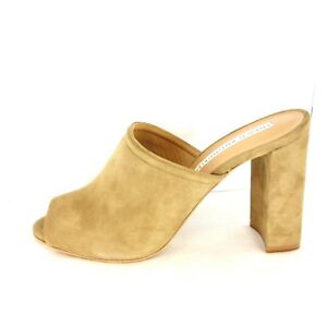 Court Shoes Mules Braun Suede 41