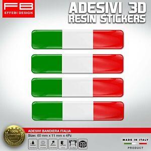 Adesivi-Stickers-3D-ITALIA-FLAG-BANDIERA-AUTO-MOTO-CASCO-CELLULARE-GADGET-RESIN