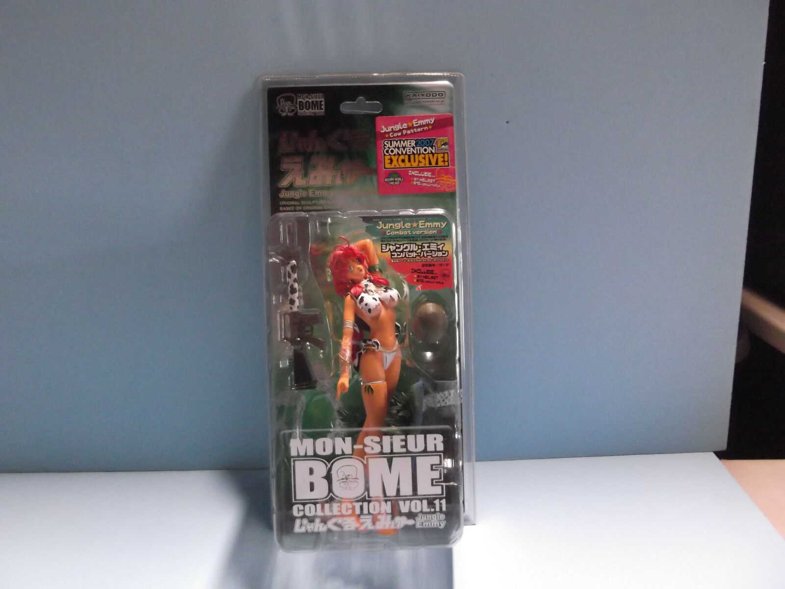 COMIC-CON EXCLUSIVE MON-SIEUR BOME JUNGLE EMMY Cow Pattern 8 in Hot  Anime