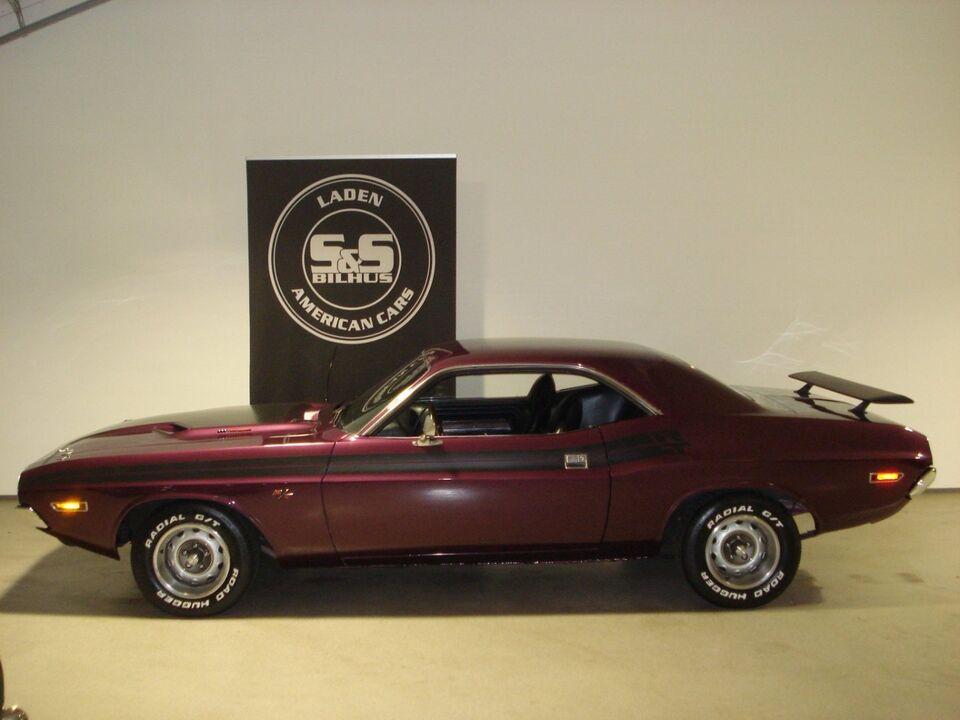 Dodge Challenger 6,2 aut. Benzin aut. modelår 1971 km 0