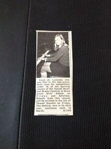 69-1-Ephemera-1970-Picture-Carol-De-Locovich-Thanet-Music-Festival