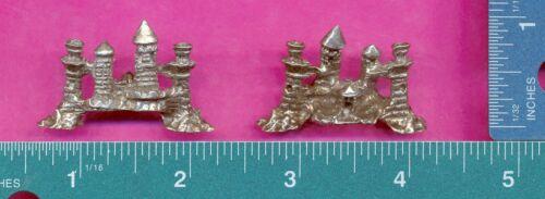 lead free pewter castle figurine C3035