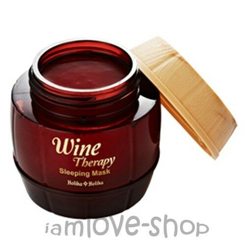 [Holika Holika] Wine Therapy Sleeping Mask #Red 120ml Anti-wrinkle Lifting Pack