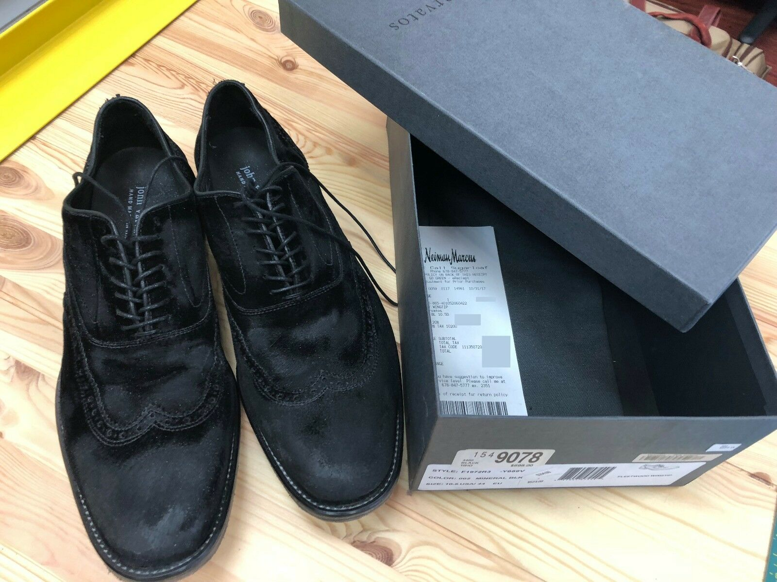 e747661dac7bab Varvatos Chaussures 10.5 John Taille nrrozf3737-Chaussures habillées ...