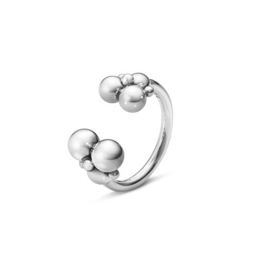 Sterling Silver Ring #551J Georg Jensen Moonlight Grapes