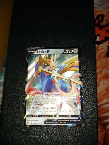 Zacian V 138//202 Ultra Rare NM