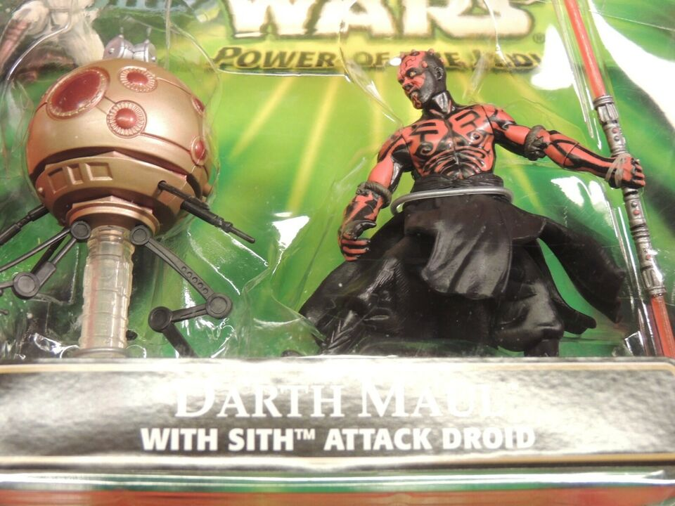STAR WARS - DARTH MAUL V/ ATTACK DROID, STAR WARS