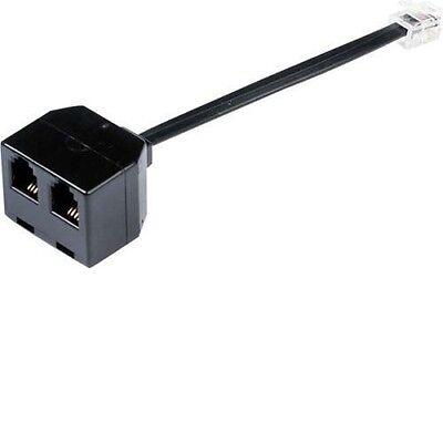 Listen Only Call Centre Training Headset Kit with headset doubler splitter