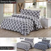 Comforter Soft Microfiber Bedspread Set King/queen Coverlets Duvet Pillow Shams
