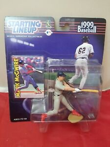 MARK MCGWIRE - Starting Lineup SLU MLB 1999 Action Figure & Card - STL Cardinals