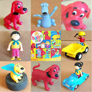 Mcdonalds happy meal toy 2004 clifford big red dog plastic for Big red dog food