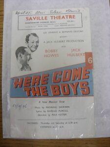 27-04-1946-Theatre-Programme-Saville-Theatre-Shaftesbury-Avenue-Lee-Ephram-amp