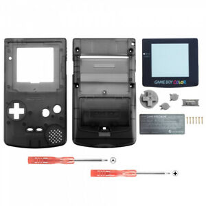 Full-Housing-Shell-Replacement-Part-for-Nintendo-Game-Boy-Color-GBC-Design-Black