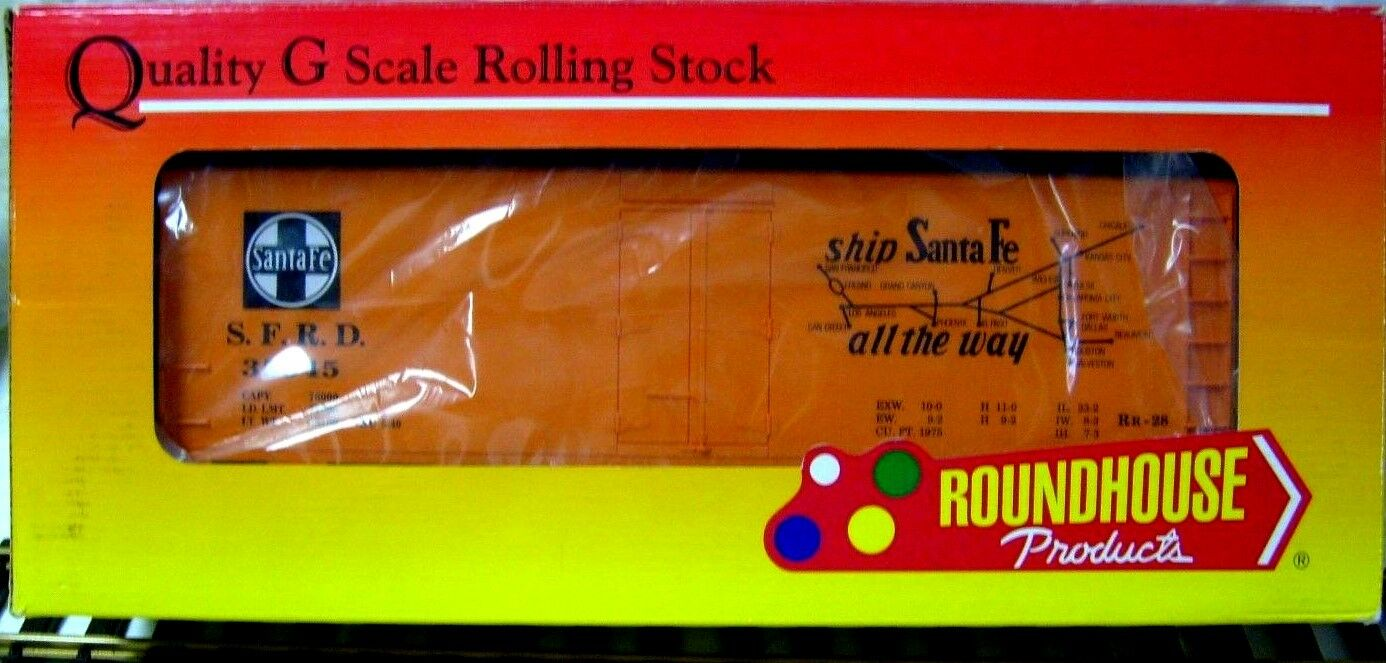 ROUNDHOUSE G4602 SANTA FE 40' AAR STEEL ICE REEFER   NEW