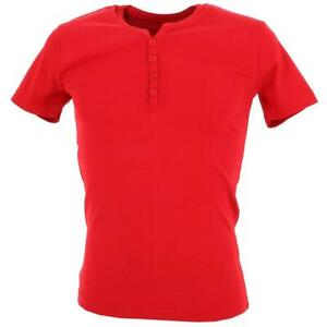 Tee shirt manches courtes La maison blaggio Theo red mc tee Rouge 93636 - Neuf