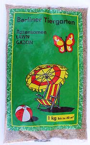 1-Kg-Berliner-Tiergarten-Samen-Strapazierfaehig-Rasensamen-Rasen-Grassamen-RE20