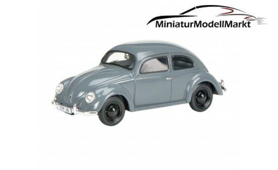 #450889100 - Schuco VW 38 - grau - Käfer (08891) - 1:43