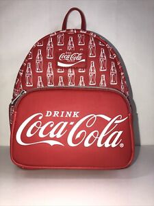 NWT- Coca Cola Vinyl Mini Red Logo Backpack Made By Funko