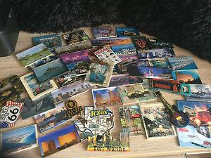 Fridge-Magnets-Assorted-USA-American-Choose-From-Las-Vegas-Dallas-Miami-Alcatraz