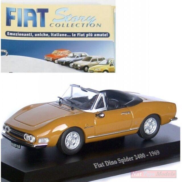 Fiat Dino Spider 2400 1969 Die Cast 1 43 Model Fas Fiat Story