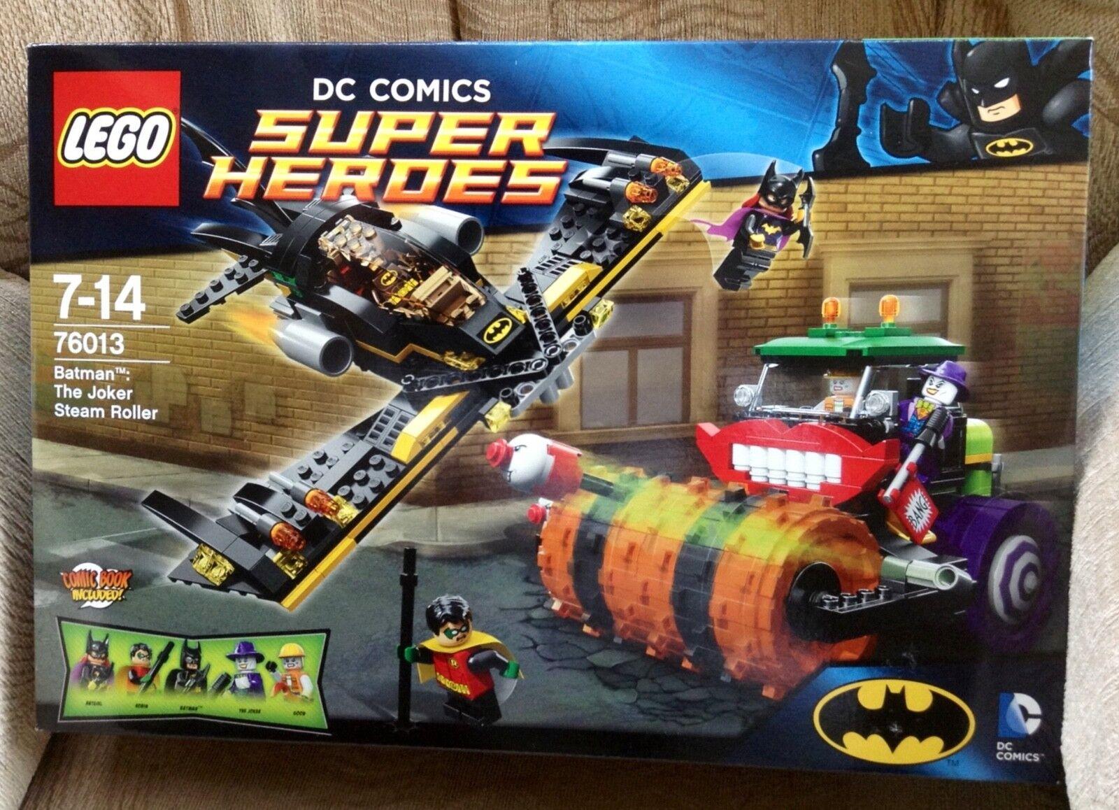 LEGO DC Super Heroes Batman   The Joker Steam Roller 76013 NEW