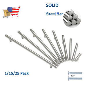 1-15-25-Pack-Solid-Stainless-Steel-Kitchen-Cabinet-Handle-T-Bar-Pull-Round-Knob