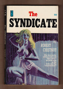 The-Syndicate-Robert-Chestnut-vintage-1960-News-Stand-Library-GGA-sleaze-NM