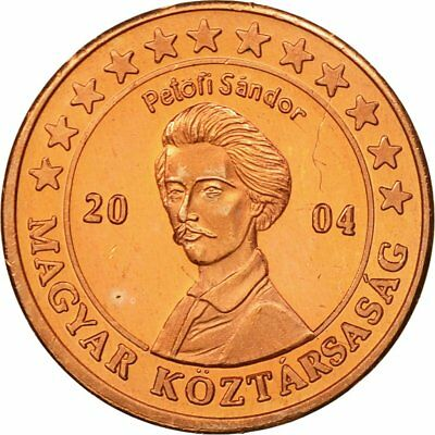 63 Hungary Copper Medal #434548 Ms Tireless 2004 Essai 2 Cents