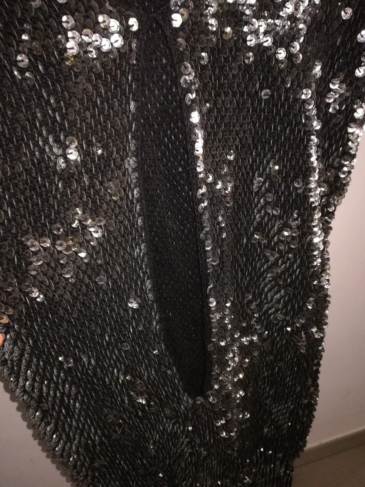 PATRIZIA PATRIZIA PATRIZIA PEPE Vestito donna Corto TG UNICA con Strass colore Nero f2ba87