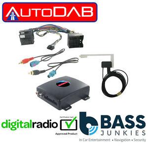 autodab ctdab-pe1 - peugeot 3008 2009 onwards add on car dab radio