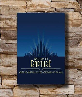 Silk Poster Bioshock Rapture Custom New Wall Decor