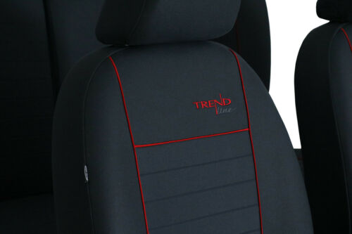 """VW PASSAT B7 2010-2014 /""""TREND/"""" FABRIC TAILORED FRONT SEAT COVERS MADE TO MEASURE"""