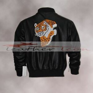 Rocky Ii Tiger Rocky Balboa Leather Jacket Ebay
