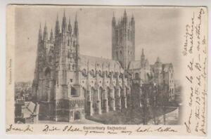 Kent-postcard-Canterbury-Cathedral-P-U-1911-A801