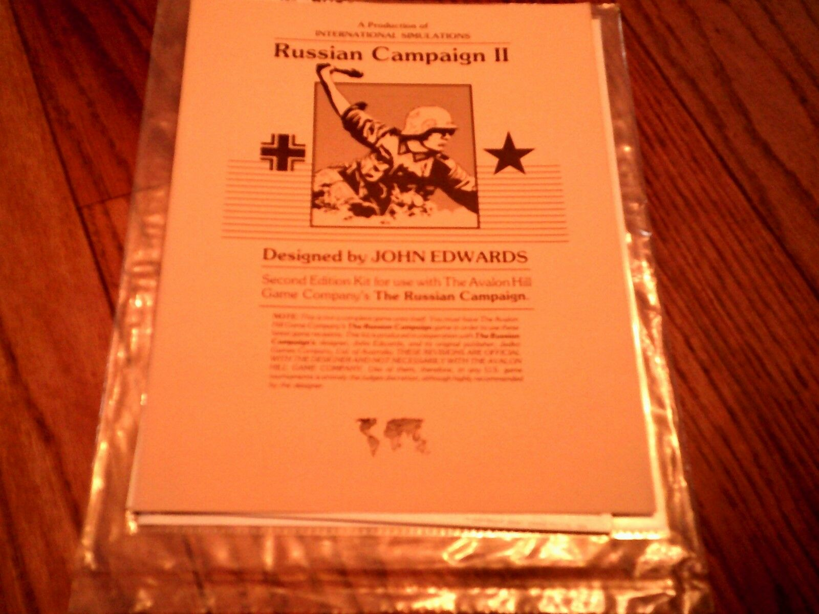 The Russian Campaign II John Edwards Rare Unpunched, Unplayed 100 % Complete