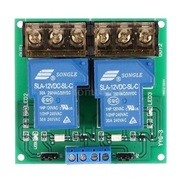 24VDC High Power One Way High//Low Level Trigger Optocoupler Isolation Relay Module 30A YYG-2 YYG-2 One Way Relay Module