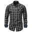 New-Fashion-Men-039-s-Slim-Fit-Shirt-Cotton-Long-Sleeve-Shirts-Casual-Shirt-Tops thumbnail 1