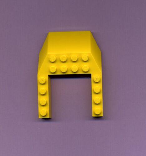6 x 8 Lego--32084--Keilstein--Wedge--Cockpit- Gelb-