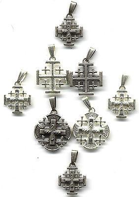 Lot of 8 Religious Jerusalem, Crusaders Crosses From Jerusalem, All New