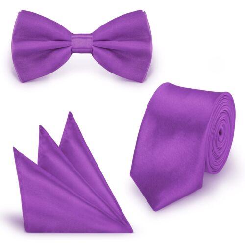 Krawatte Einstecktuch Fliege schmal dünn Tie Schlips Binder Busniess Kravatte