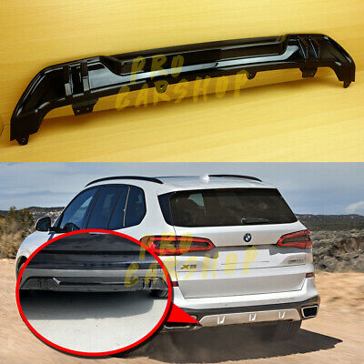 TGFOF Fit For BMW X5 G05 2019 2020 2021 Rear Roof Spoiler Top Window Wing ABS Glossy Black Rear Trunk Spoiler Boot Lid Lip Middle Spoiler