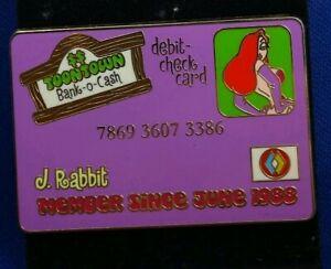 Disney-ToonTown-Debit-Credit-Card-ID-Member-Series-JESSICA-Rabbit-LE250-Pin-DLR