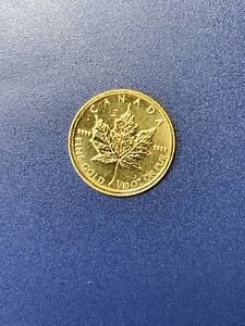 1991-Canada-1-10-oz-9999-Fine-Gold-Maple-Leaf-5