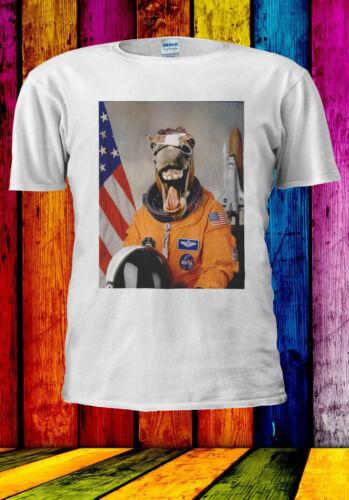 Astronaut Funny Horse Laugh In Space T-shirt Vest Tank Top Men Women Unisex 538