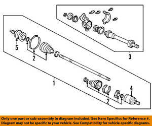 Wondrous Honda Oem 09 14 Ridgeline Front Outer Cv Joint 44014Sjca12 Ebay Wiring Digital Resources Funapmognl